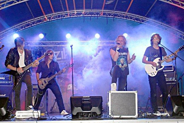 Víťazná slovenská kapela Eufory.