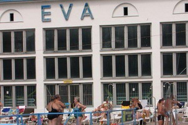 Kúpalisko Eva v Piešťanoch.