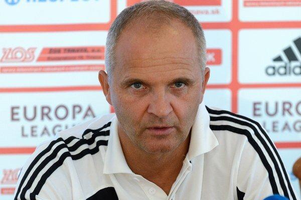 Tréner futbalistov Trnavy Juraj Jarábek.