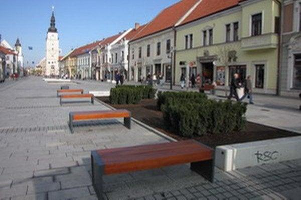 Hlavná ulica.