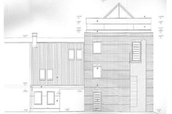 Takto vyzerá podľa projektu veža a domček.