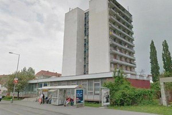 Budova bývalej ubytovne na Kollárovej ulici.