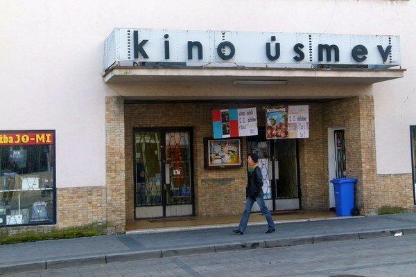 Predstavenie v kine Úsmev navštívilo vlani priemerne necelých štrnásť ľudí.