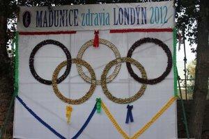 Minulý rok vytvorili z cibúľ olympijské kruhy.