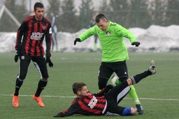 Spartak ukončil zimnú prípravu víťazstvom.