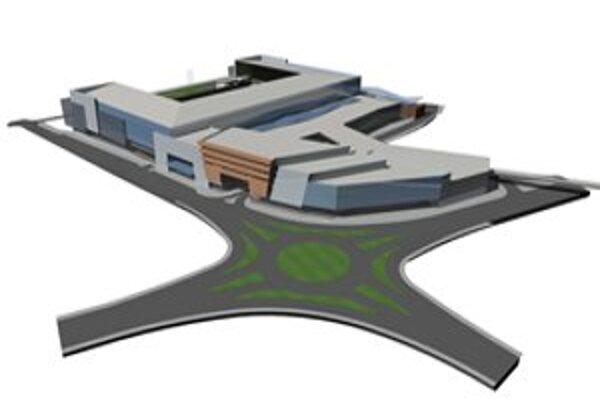 Pôvodná vizualizácia City Areny.