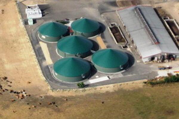 Ilustračné foto bioplynovej stanice.