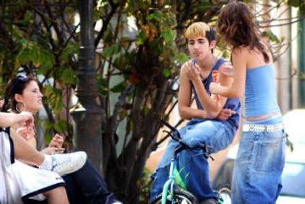 Ľudí zo sídliska najviac obťažujú hlučné skupinky, ktoré vysedávajú na lavičkách.