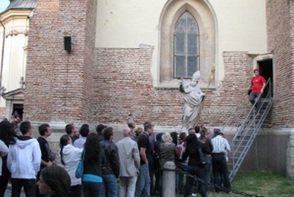 Najväčším lákadlom bola Bazilika sv. Mikuláša.