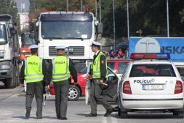 Počas včerajšej akcie zaevidovali policajti viacero priestupkov.