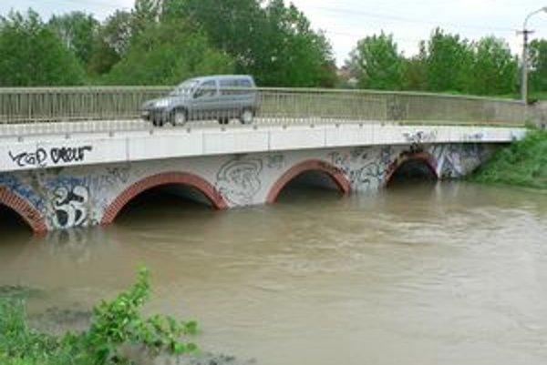Situácia v Suchej nad Parnou počas májových povodní.