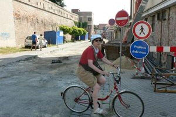 Dokončenie ulice Horné bašty sa posúva o dva týždne.