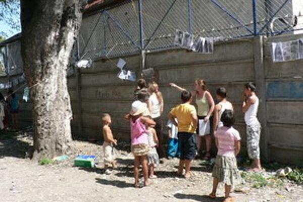 Komunitné centrum organizovalo pre Rómov viacero podujatí.