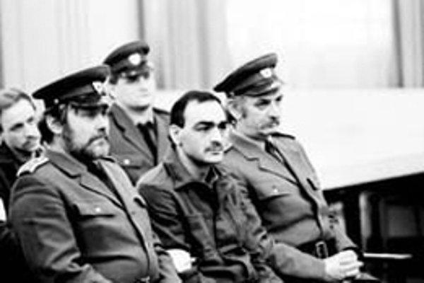 Proces s vodcom vzbury - Tiborom Polgárim.