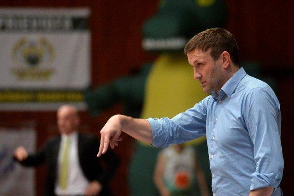 Tréner BC Prievidza.