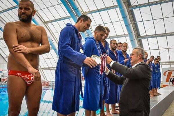 Oceňovanie víťazov Slovenského pohára.