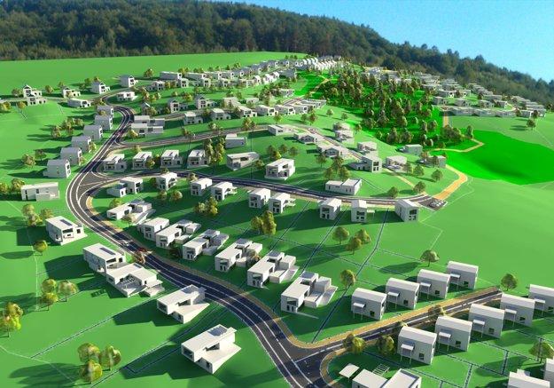 V meste pribudne dvesto domov.