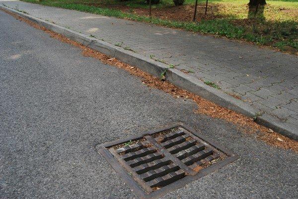 Kanalizačné vpusty treba čistiť niekoľkokrát do roka.