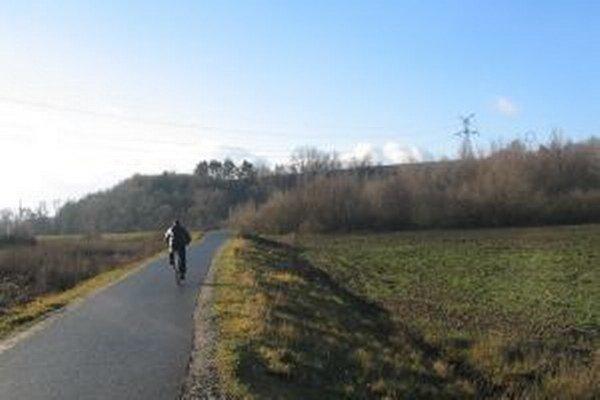 Cyklotrasu si ľudia pochvaľujú