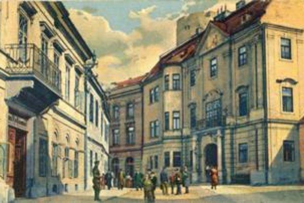 Múzeum v Trenčíne sídli vo vzácnej budove. Rok 1928