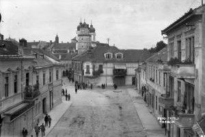 Dávna história Hviezdoslavova ulica v roku 1898.