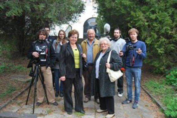 Po päťdesiatich rokoch sa trojica hercov opäť postavila pred filmové kamery.