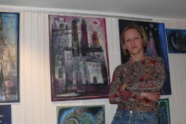 Autorka do Trenčína priviezla svoje najnovšie diela.