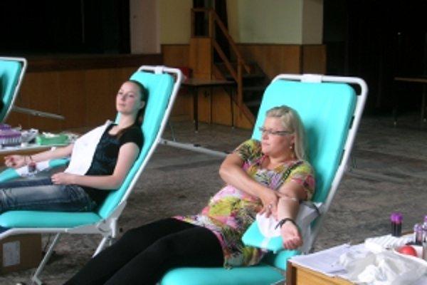 Prišli najmä mladí ľudia, ktorí krv darovali prvý raz.