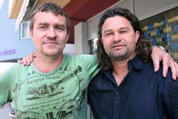 Tibor Jančula (vľavo) a Jozef Majoroš.
