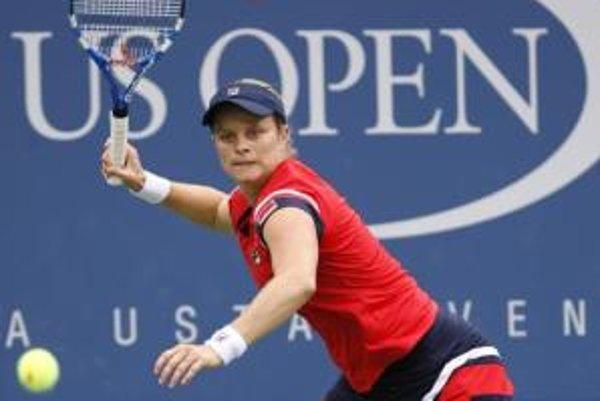 Kim Clijstersová má na US Open výbornú formu.