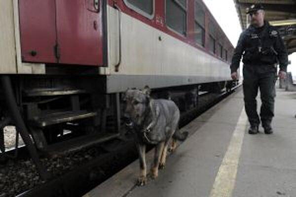 Akcia Čistá stanica bola zameraná na zvýšenie bezpečnosti cestujúcich vo vlakoch a na železničných staniciach.