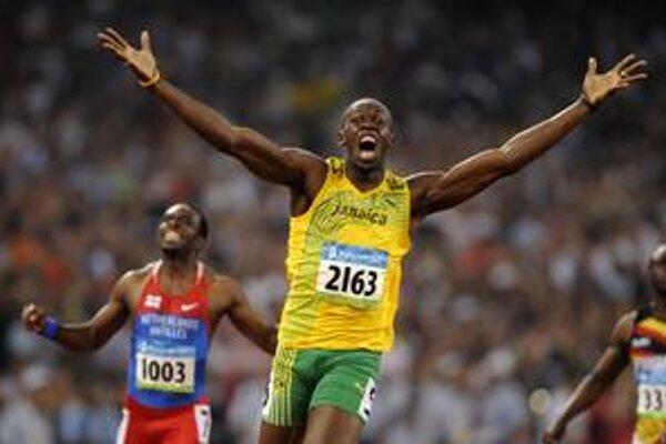 Najžiadanejší atlét súčasnosti Jamajčan Usain Bolt.
