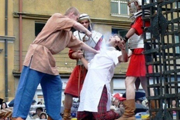 Každý otrok musel byť pred gadiátorským súbojom označený vypáleným znakom.