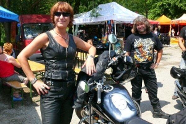 Motorkou so svojím portrétom sa môže pochváliť Michaela Bariny zo Šenkvíc.