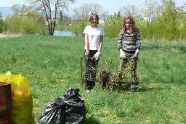 Zátoku čistili tri triedy stredoškolákov, skauti a ďalší dobrovoľníci