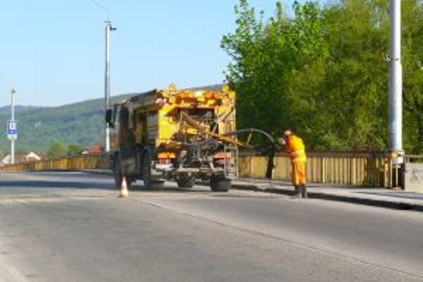 Cestný most budú opravovať. Najskôr však o tri roky.