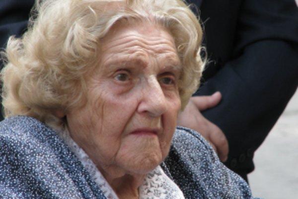 Jarmila HrúzováMarkovičová zomrela vo veku 98 rokov