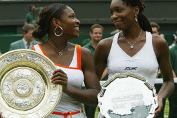 Sestry Williamsové spolu vo finále.