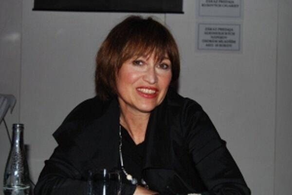Herečka Petra Černocká sa zúčastnila tohtoročného Art Film Festu.