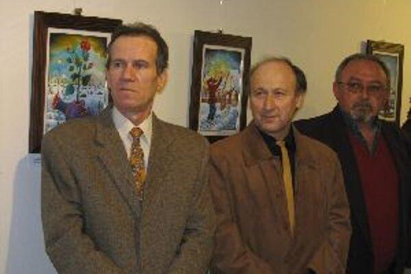 Kovačická trojka - zľava Marci Markov, Pavel Hajko a Pavel Cicko