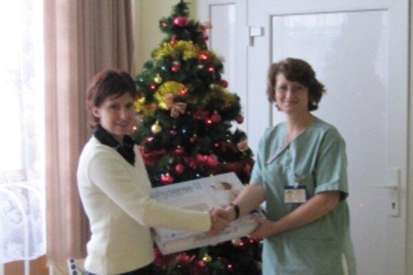 Trenčianska nemocnica dostala darček ešte pred Vianocami