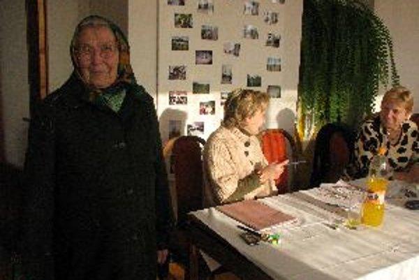 Osemdesiatročná Mária Zámečníková chodí na voľby pravidelne