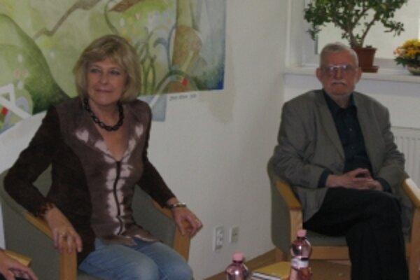 Na besedu do Senior centra na Sihoti prišli tentokrát manželia Feldekovci.