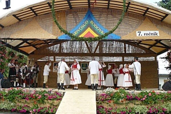 Folklórny festival seniorov sa v obci Krivosúd-Bodovka konal už siedmykrát.