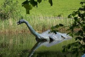 """Replika legendárnej Lochnesskej príšery """"Nessie"""""""