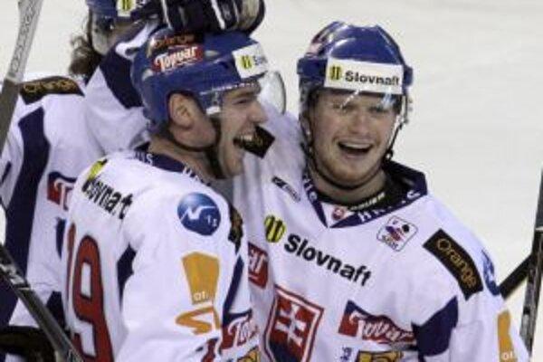 Peter Bartovič (vpravo) a René Vydarený.