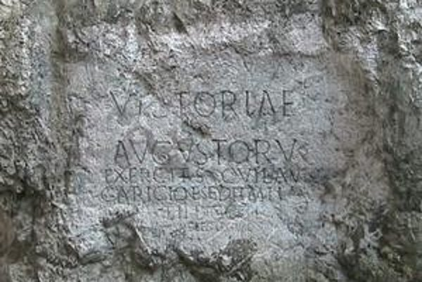 Toto zostalo po Rimanoch z Budapešti.
