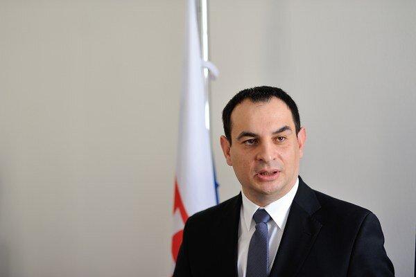 Splnomocnenec vlády SR pre rómske komunity Peter Pollák.
