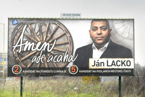 Ján Lacko (Strana práce). 46-ročný športový manažér.