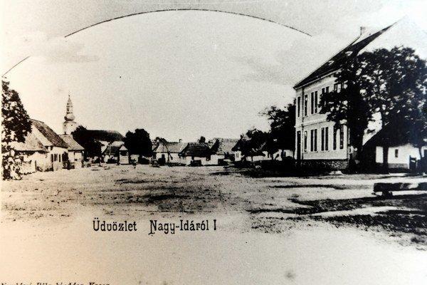 Dobová snímka obce Veľká Ida.